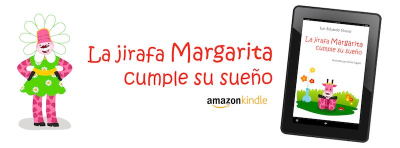 La jirafa Margarita en versión digital