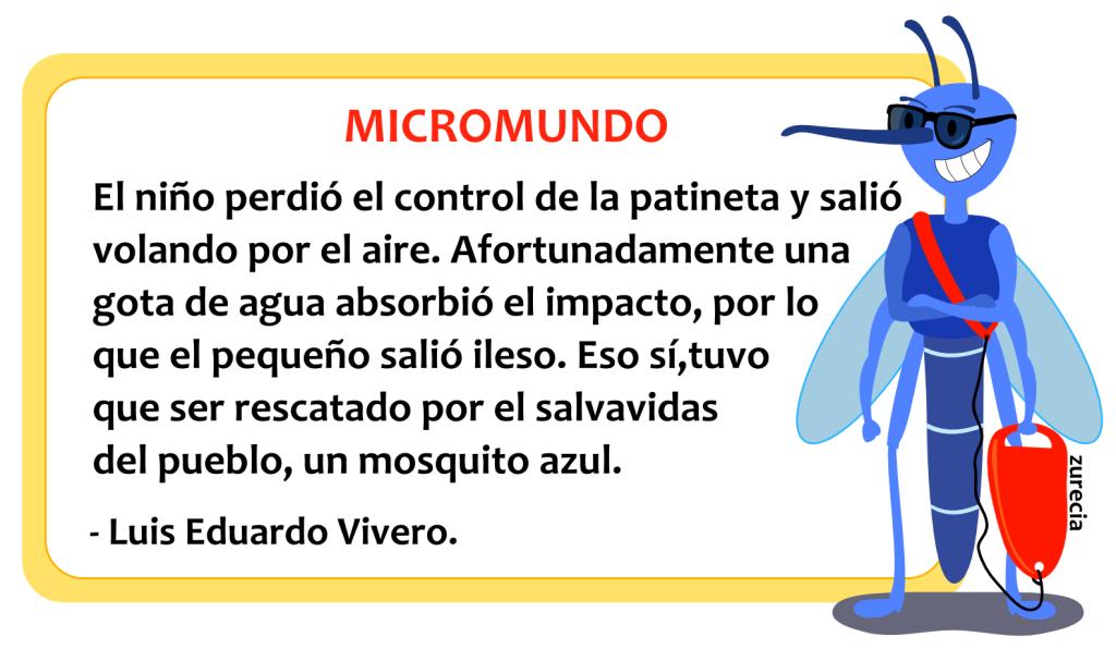 Microcuento micromundo