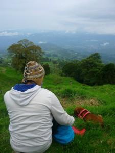 Vista desde Quetzalia