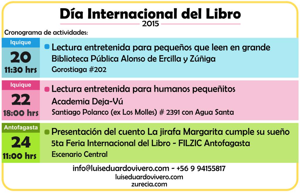 CronogramaDiaInternacionalDelLibro 2015
