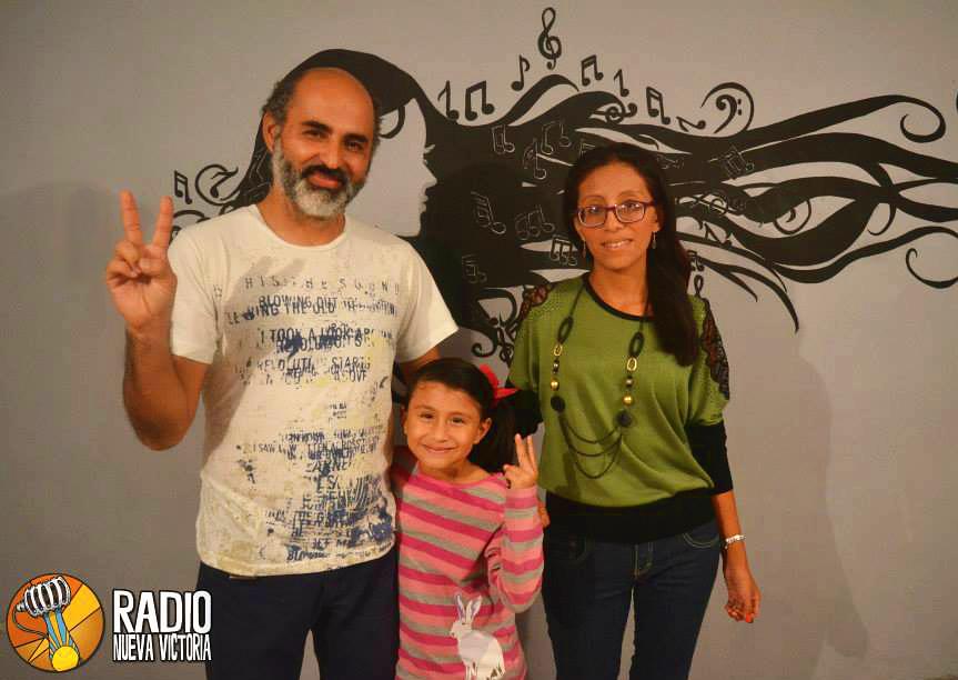 Entrevista en Radio Nueva Victoria, Iquique 2015